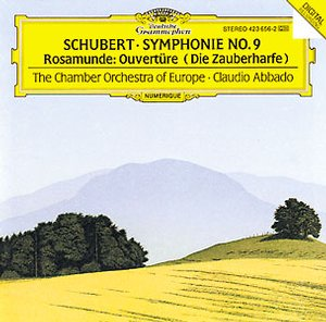 Franz Schubert / Symphonies 3 & 8 / The Chamber Orchestra of Europe / Claudio Abbado