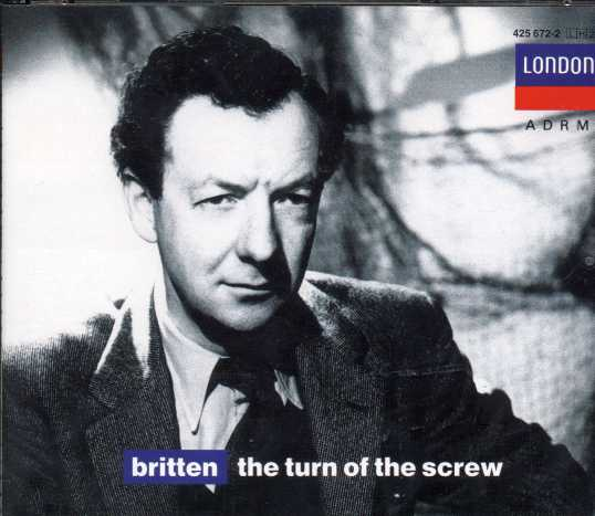 Benjamin Britten / The Turn of the Screw / Peter Pears / Jennifer Vyvyan / English Opera Group Orchestra / Benjamin Britten