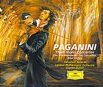 Niccolò Paganini / Violin Concertos (Complete) / Salvatore Accardo / London Philharmonic Orchestra / Charles Dutoit