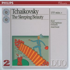 Pyotr Tchaikovsky / The Sleeping Beauty / Royal Concertgebouw Orchestra / Antal Dorati 2CD