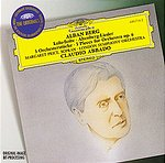 "Alban Berg / 3 Pieces for Orchestra / Altenberg Lieder / ""Lulu"" Suite / Margaret Price / London Symphony Orchestra / Claudio Abbado"