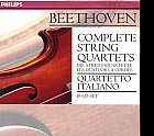 Ludwig van Beethoven / String Quartets (Complete) / Quartetto Italiano 10CD