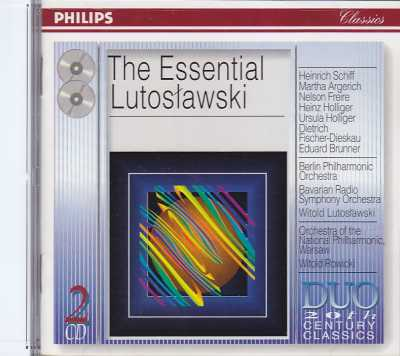 Witold Lutoslawski / The Essential Lutoslawski 2CD