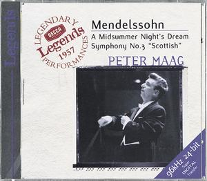 Felix Mendelssohn / A Midsummer Night's Dream, etc. / London Symphony Orchestra / Peter Maag