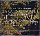 Ludwig van Beethoven / String Quartets 11-16 / Takács Quartet 3CD