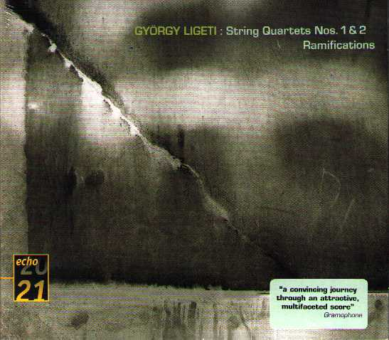 György Ligeti / String Quartets / Ramifications / Melodien etc.