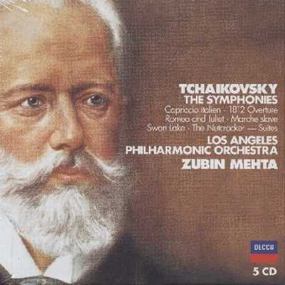 Pyotr Tchaikovsky / Symphonies (Complete) / Orchestral Works / Los Angeles Philharmonic Orchestra / Israel Philharmonic Orchestra / Zubin Mehta 5CD