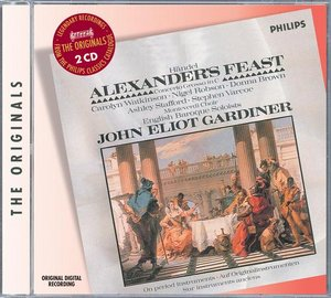 Georg Friedrich Händel / Alexander's feast / English Baroque Soloists / John Eliot Gardiner 2CD