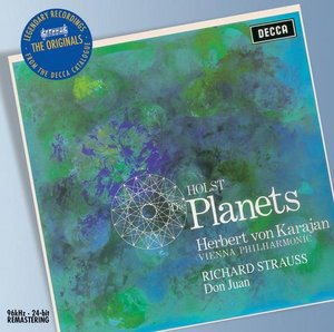 Gustav Holst / The Planets / Richard Strauss / Don Juan / Wiener Philharmoniker / Herbert von Karajan