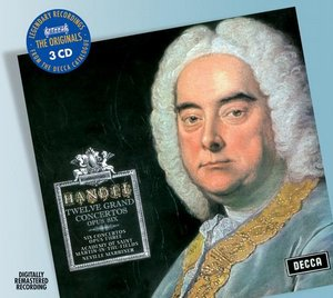Georg Friedrich Händel / Concerti Grossi op. 6 & op. 3 / Academy of St. Martin in the Fields / Neville Marriner 3CD
