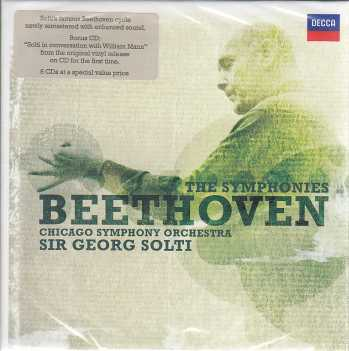 Ludwig van Beethoven / Symphonies (Complete) / Chicago Symphony Orchestra / Sir Georg Solti 6CD