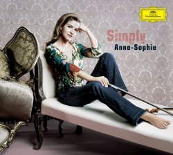 Anne-Sophie Mutter / Simply Anne-Sophie CD+DVD