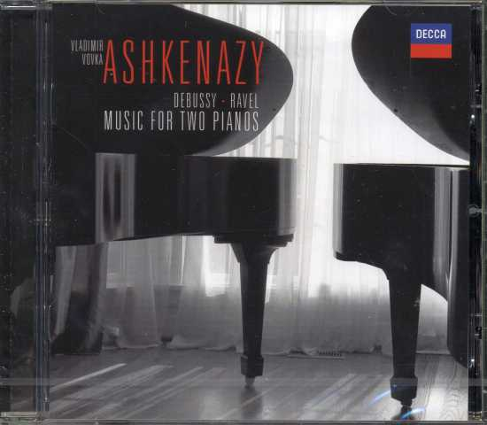 Claude Debussy / Maurice Ravel / Music for two pianos / Vladimir & Vovka Ashkenazy