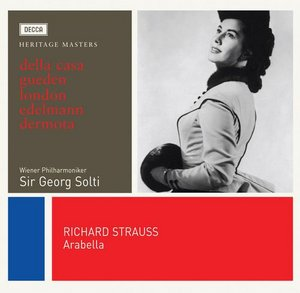 Richard Strauss / Arabella / Lisa della Casa / Hilde Gueden / Wiener Philharmoniker / Sir Georg Solti 2CD