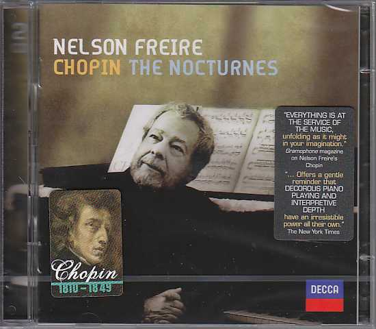 Frédéric Chopin / Nocturnes (Complete) / Nelson Freire 2CD