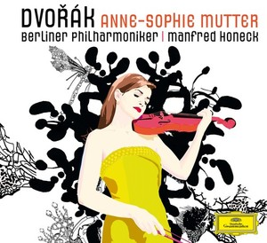 Antonín Dvorák / Violin Concerto // Anne-Sophie Mutter / Berliner Philharmoniker / Manfred Honeck (ltd. ed.)