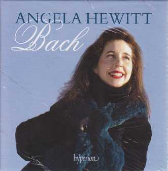 J.S. Bach / Angela Hewitt 15CD