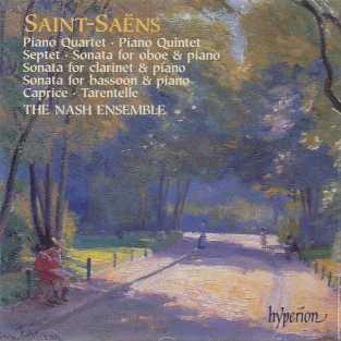 Camille Saint-Saëns / Chamber Music / The Nash Ensemble 2CD