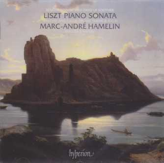 Franz Liszt / Piano Sonata / Bénèdiction / Fantasy and Fugue on the theme Bach / Venezia e Napoli / Marc-André Hamelin