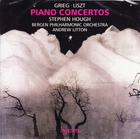 Edvard Grieg / Piano Concerto / Franz Liszt / Piano Concertos (Complete) / Stephen Hough / Bergen Philharmonic Orchestra / Andrew Litton