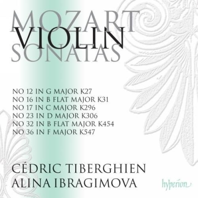 W.A. Mozart / Sonatas for Keyboard and Violin // Cédric Tiberghien / Alina Ibragimova