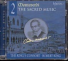 Claudio Monteverdi / The Sacred Music 2 / Choir of the King's Consort / The King's Consort / Robert King / SACD