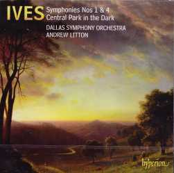 Charles Ives / Symphonies 1 & 4 / Dallas Symphony Orchestra / Andrew Litton SACD