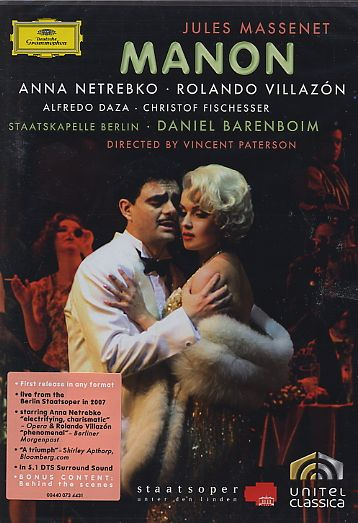 massenet manon dessay villazon Find helpful customer reviews and review ratings for massenet manon [dvd] [2008] at amazoncom read honest and unbiased product reviews from our users.
