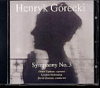 Henryk Górecki / Symphony No. 3 / Dawn Upshaw / London Sinfonietta / David Zinman