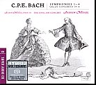 C.P.E. Bach / 4 Symphonies / The English Concert / Andrew Manze SACD