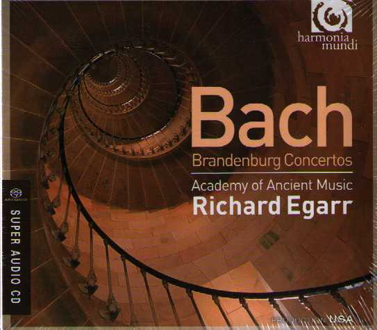 J.S. Bach / Brandenburg Concertos (Complete) / Richard Egarr / Academy of Ancient Music SACD