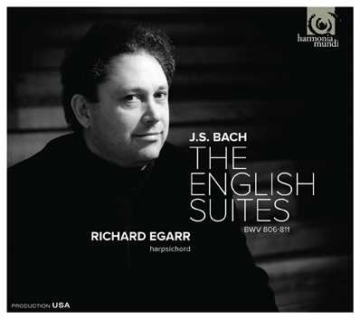 J.S. Bach / English Suites (Complete) // Richard Egarr
