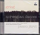 Edvard Grieg / Norwegian Dances / Estonian National Symphony Orchestra / Paavo Järvi