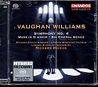 Ralph Vaughan Williams / Symphony No. 4 etc. / London Symphony Orchestra / Richard Hickox SACD