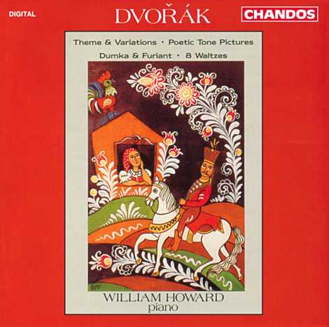 Antonín Dvorák / Piano Music / William Howard