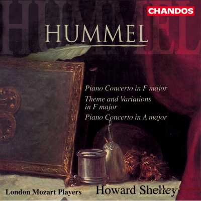 Johann Nepomuk Hummel / Piano Concertos etc. / London Mozart Players / Howard Shelley