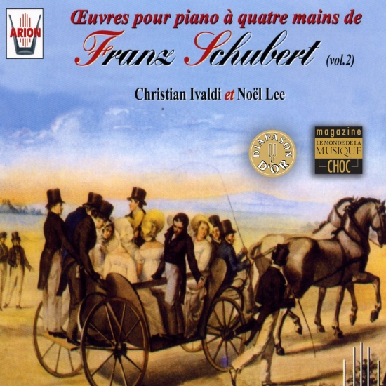 Franz Schubert / Music for piano four hands / Christian Ivaldi / Noel Lee