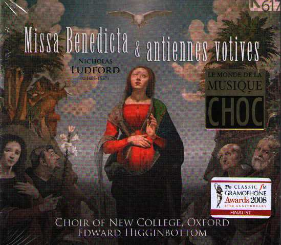 Nicholas Ludford / Missa Benedicta / Choir of New College Oxford