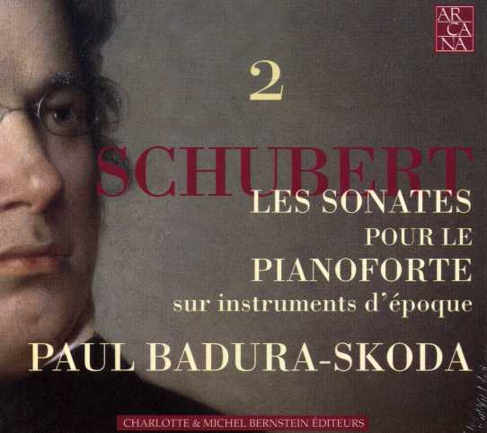 Franz Schubert / Piano Sonatas vol. 2 / Paul Badura-Skoda