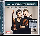 W.A. Mozart, Louis Spohr / Duos for Violin & Viola / Tabea Zimmermann / Antje Weithaas SACD