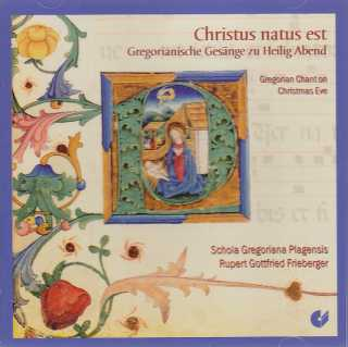 Christus natus est / Gregorian Chant on Christmas Eve at the Premonstratensians / Schola Gregoriana Plagensis