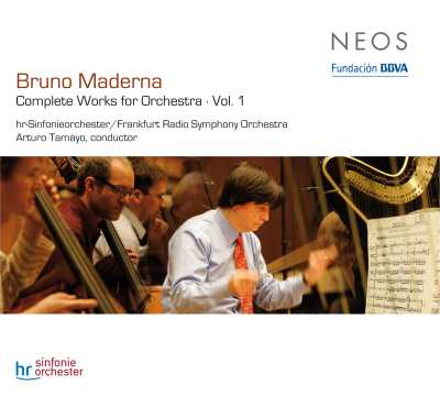Bruno Maderna / Complete Works for Orchestra, vol. 1 / Arturo Tamayo