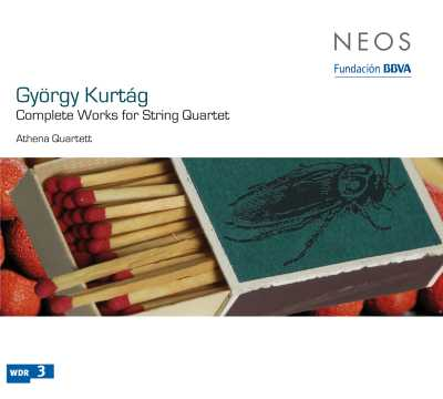 György Kurtág / Complete Works for String Quartet / Athena Quartett