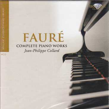 Gabriel Fauré / Piano Music (Complete) / Jean-Philippe Collard 4CD