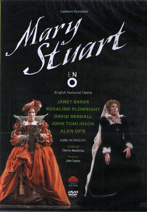 Gaetano Donizetti / Mary Stuart / Janet Baker / English National Opera DVD