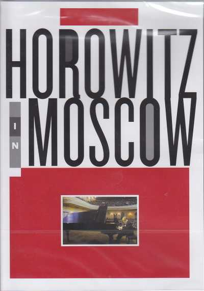 Horowitz in Moscow DVD