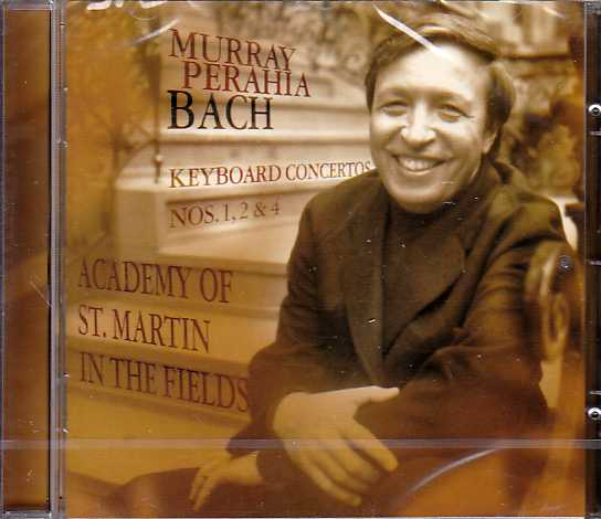 J.S. Bach / Keyboard Concertos Nos. 1, 2 & 4 / Murray Perahia / Academy of St. Martin in the Fields