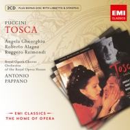 Giacomo Puccini / Tosca / Angela Gheorghiu / Roberto Alagna / Orchestra and Chorus of the Royal Opera House / Antonio Pappano