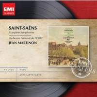 Camille Saint-Saëns / Symphonies (Complete) / Jean Martinon (EMI Masters)