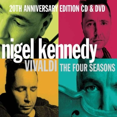 Antonio Vivaldi / The Four Seasons // English Chamber Orchestra / Nigel Kennedy